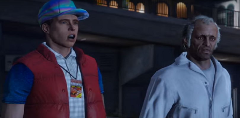 Video: Go Back to the Future with GTA V