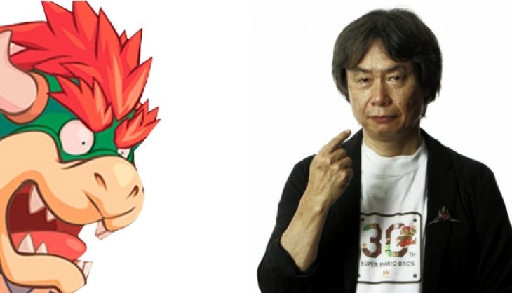 Miyamoto is Bowser Jr.'s mother… apparently