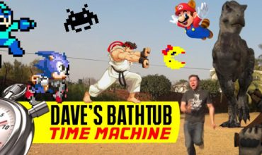 Video: Dave's Bathtub Time Machine