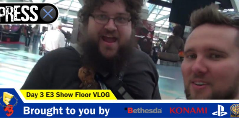 Video: E3 2016 vlog around the show floor