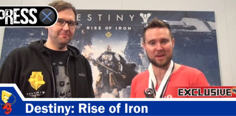 Video Exclusive: Destiny: Rise of Iron Interview