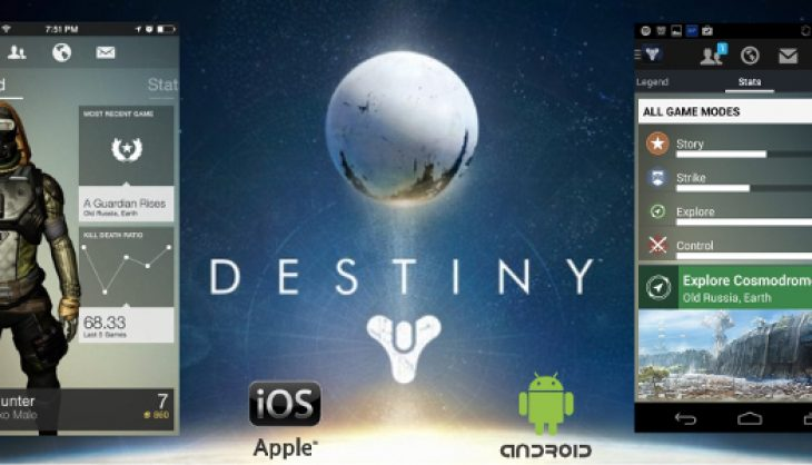 The Destiny companion app is available right now