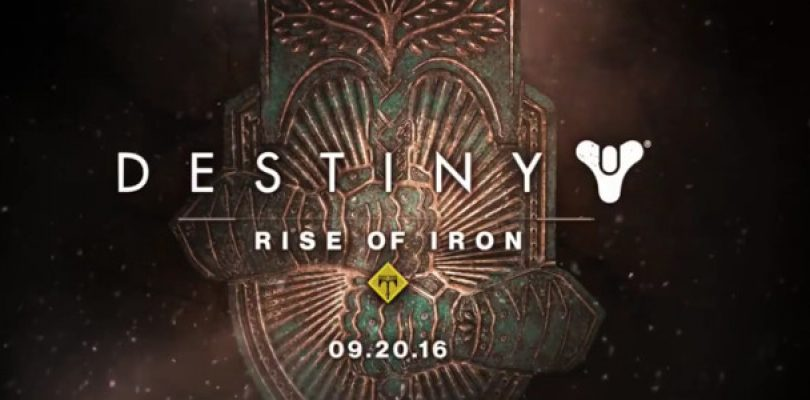 Destiny: Rise of Iron has been leaked