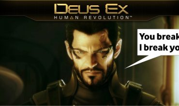 Deus Ex: Human Revolution is being turned into a movie