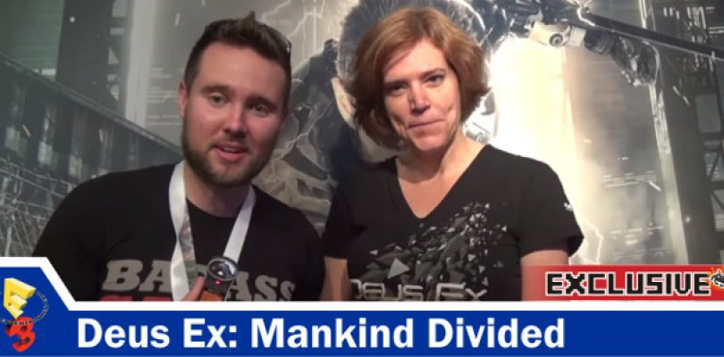 Video: Exclusive Deus Ex: Mankind Divided Interview