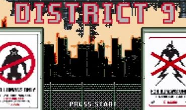 This Is What District 9 Will Look Like As An 8-bit Game