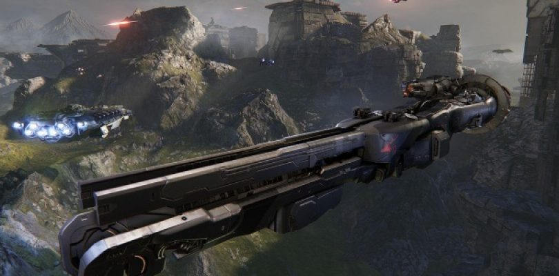 Watch 10 minutes of Dreadnought team deathmatch action