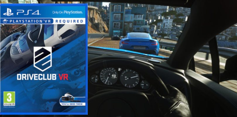 Gamescom: Driveclub VR detailed and launching this year