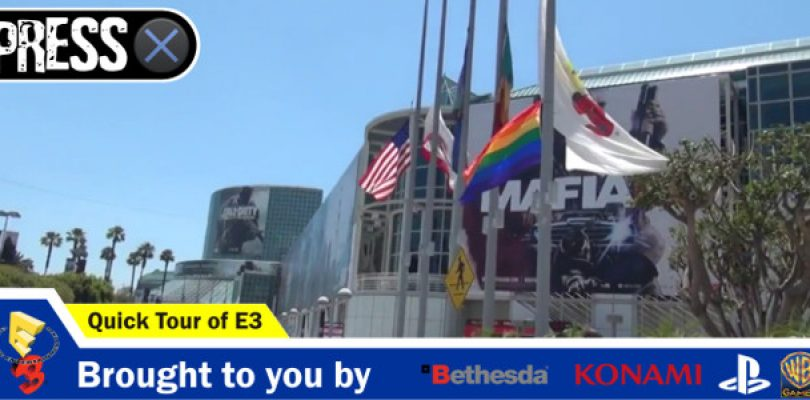 Video: How big is the E3 show floor? Let's show you (spoiler alert – it's massive)