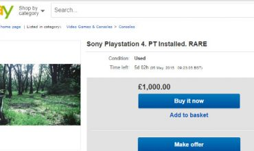 Get PS4 with P.T. installed for ONLY R18,000…
