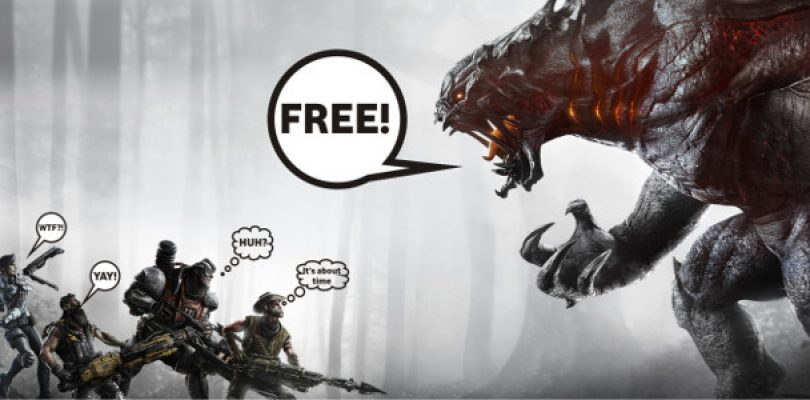 Evolve has evolved into a Free-To-Play game on PC