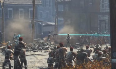Check out this epic Fallout 4 battle video
