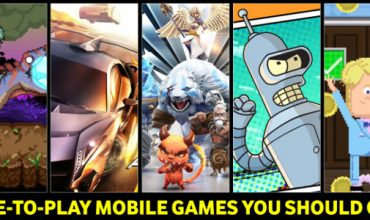 Great Free To Play Mobile Games you might not have played yet
