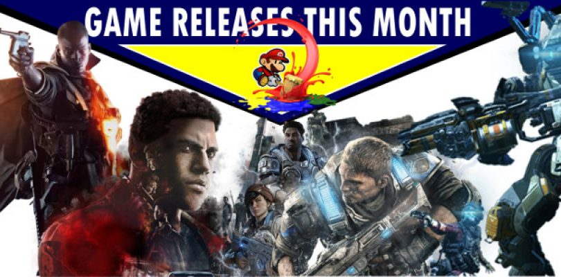 Games releasing in October – With more predictions