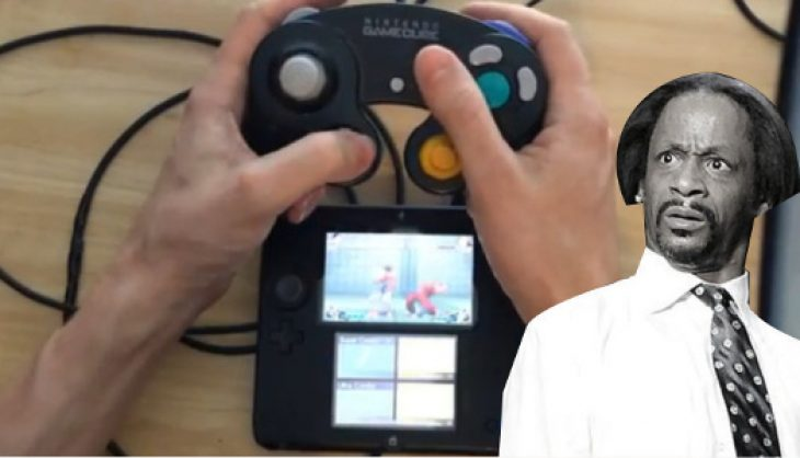 Someone got a GameCube controller to work on their 2DS