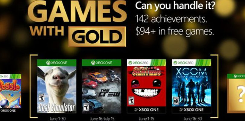 Your Games with Gold for June includes Goat Simulator and XCOM Enemy Unknown