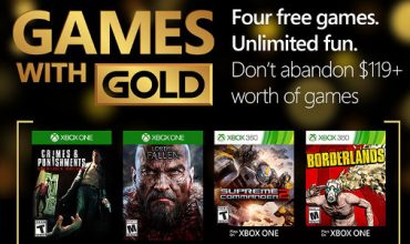 Your Games with Gold for March