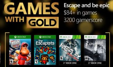 Your Games with Gold for October include The Escapists and I Am Alive