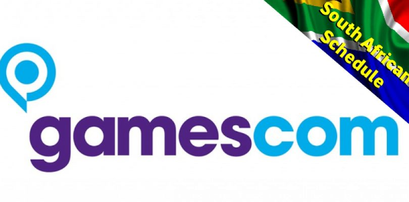 Your Local Gamescom Press Conference Schedule with stream links!