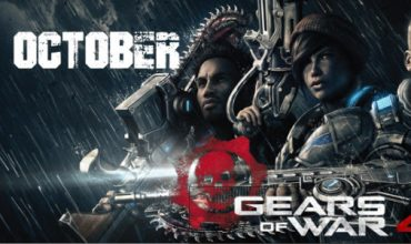 Get out of cover! Gears of War 4 is heading to you on 11 October