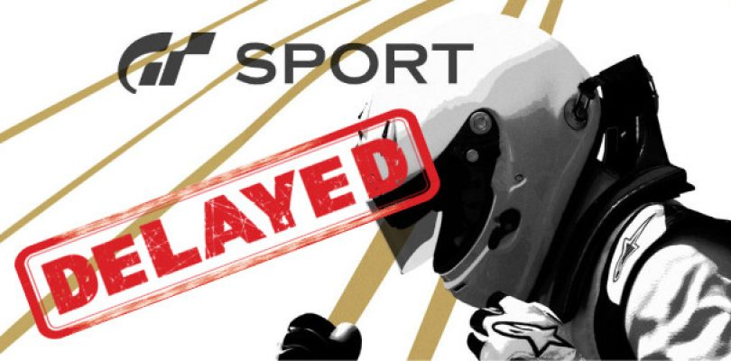 Gran Turismo Sport officially delayed to 2017
