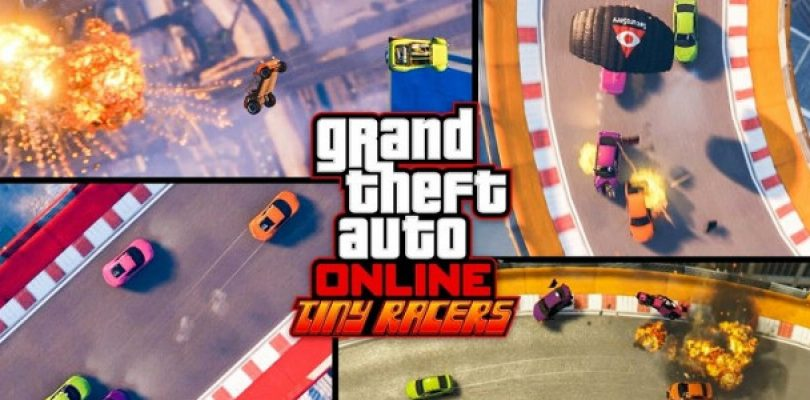 Video: GTA Online goes the Micro Machines route with their Tiny Racers DLC in April