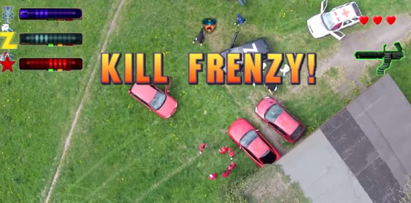 Top-down GTA recreated in real life