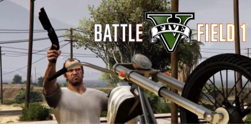The Battlefield 1 reveal trailer… remade in GTA V, and it's hilarious