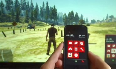 GTA V iPhone app to control in-game phone