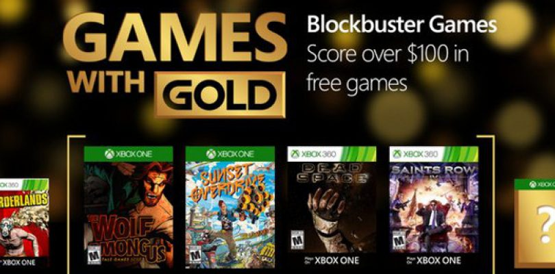 Games with Gold in April includes Sunset Overdrive, Wolf Among Us and more
