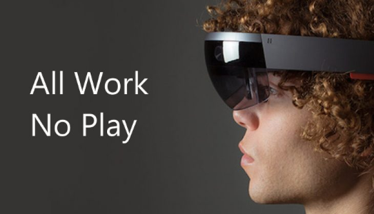Hololens will initially not be about games says Microsoft CEO