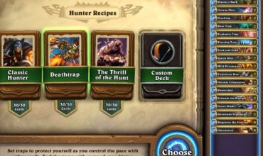 Want to try Hearthstone but the idea of building a deck has you down? Say hello to Deck Recipes