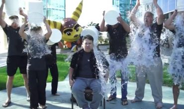 The Ice Bucket Challenge is a THING in the games industry