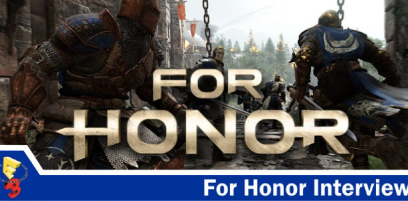 E3 interview with Jason VandenBerge about For Honor