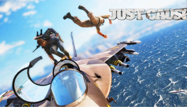 Just Cause 3 footage emerges from above