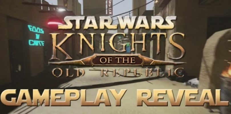 Video: Check out the first ever gameplay of the KOTOR fan remake