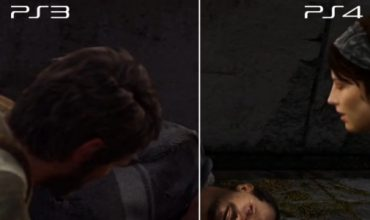 PS3 vs PS4 The Last of Us Remastered video