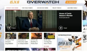 Overwatch release date leaked by… adverts on gaming websites