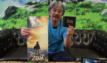 Video: Eiji Aonuma does an adorable The Legend of Zelda: Breath of the Wild CE unboxing