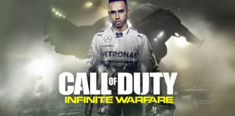 Lewis Hamilton set to appear in his next video game… CoD: Infinite Warfare?