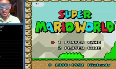 Watch this guy beat Super Mario World while blindfolded