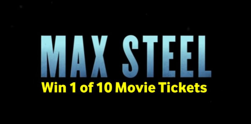 Competition: Win 1 of 10 Max Steel tickets!