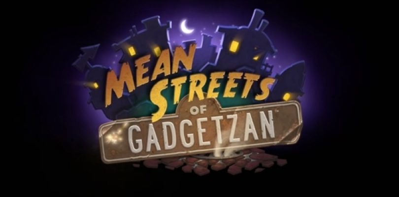 BlizzCon 2016: Mean Streets of Gadgetzan Hearthstone expansion announced