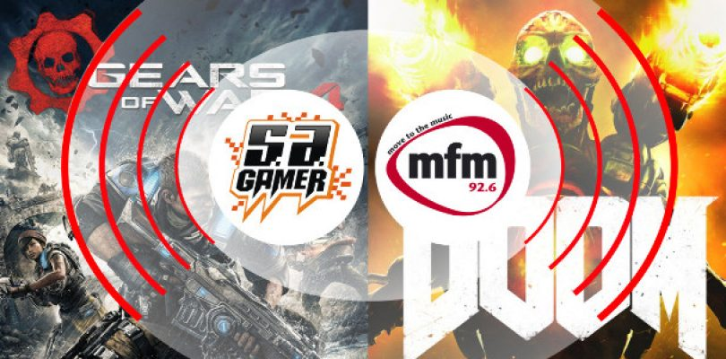 We chat to MFM 92.6 – DOOM and Gears of War 4 Beta