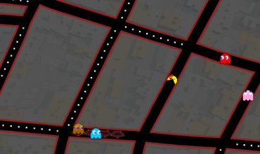 Go chase some ghosts in Ms. Pac-Man on Google Maps right now