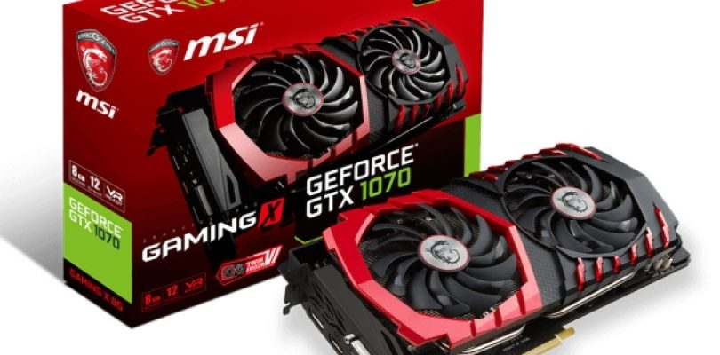 Review: MSI Nvidia GTX 1070 Gaming X graphics card