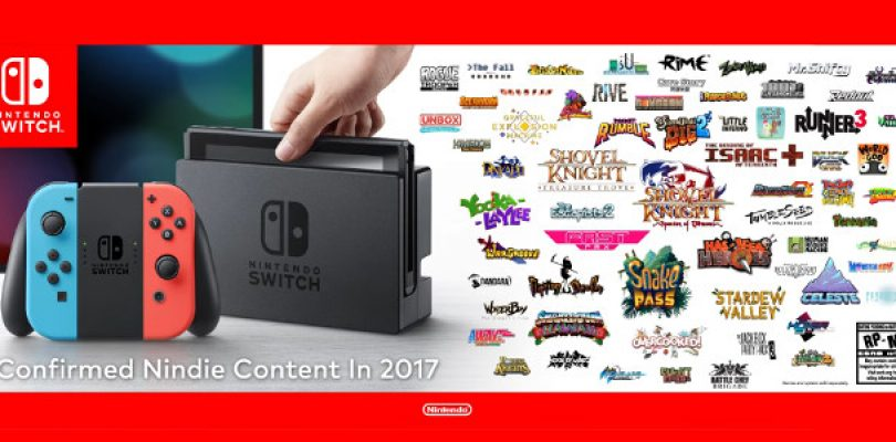 Video: Nintendo shows off a plethora of Indie games on the Switch