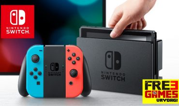 FRE3 Games Vrydag – Nintendo Switch Console