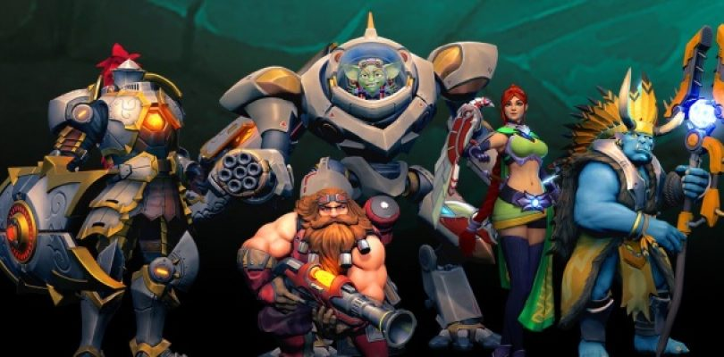 Hi-Rez studios reveals Paladins, a free-to-play FPS
