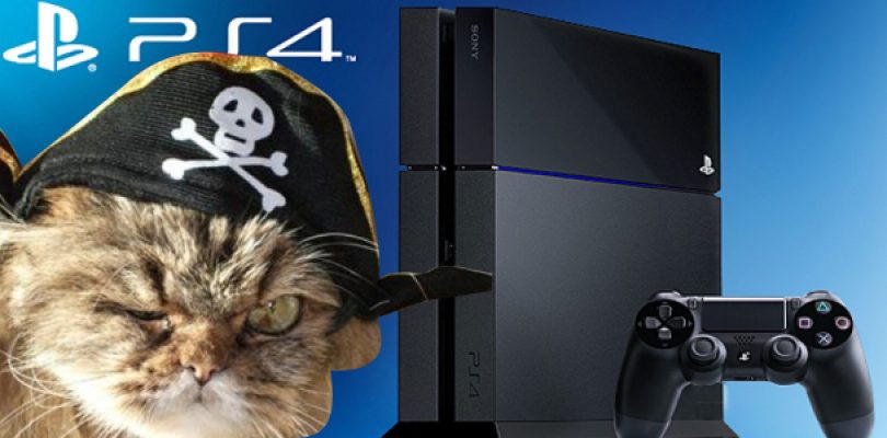 Piracy invades the PS4